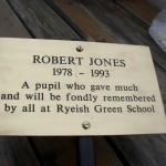 Robert Jones (1978-1993) - Student at Ryeish Green School