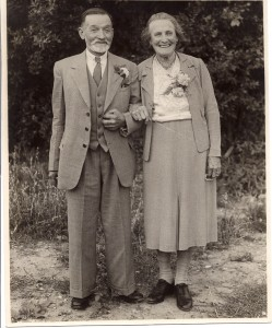 Arthur & Annie Clements, August 1949 (Odell)