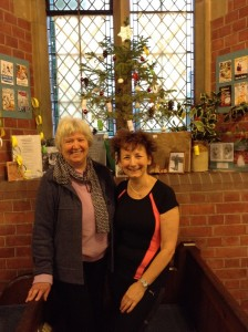 Margaret & Lesley - Christmas Window 2015 - web