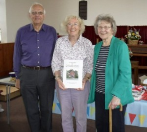 Launching the book from the Chapel