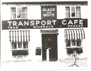Black & White Cafe, Three Mile Cross