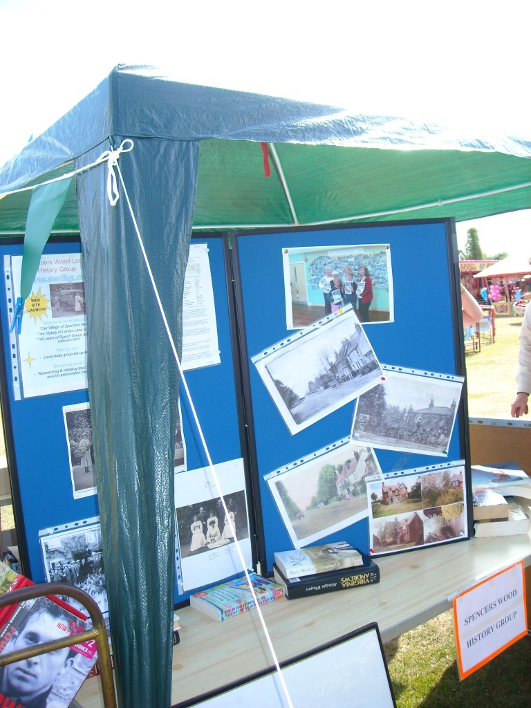 SWLHG Stand at Spencers Wood Carnival