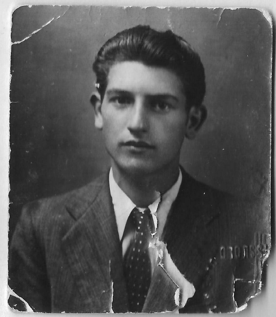 Pio Bertoni - aged 18
