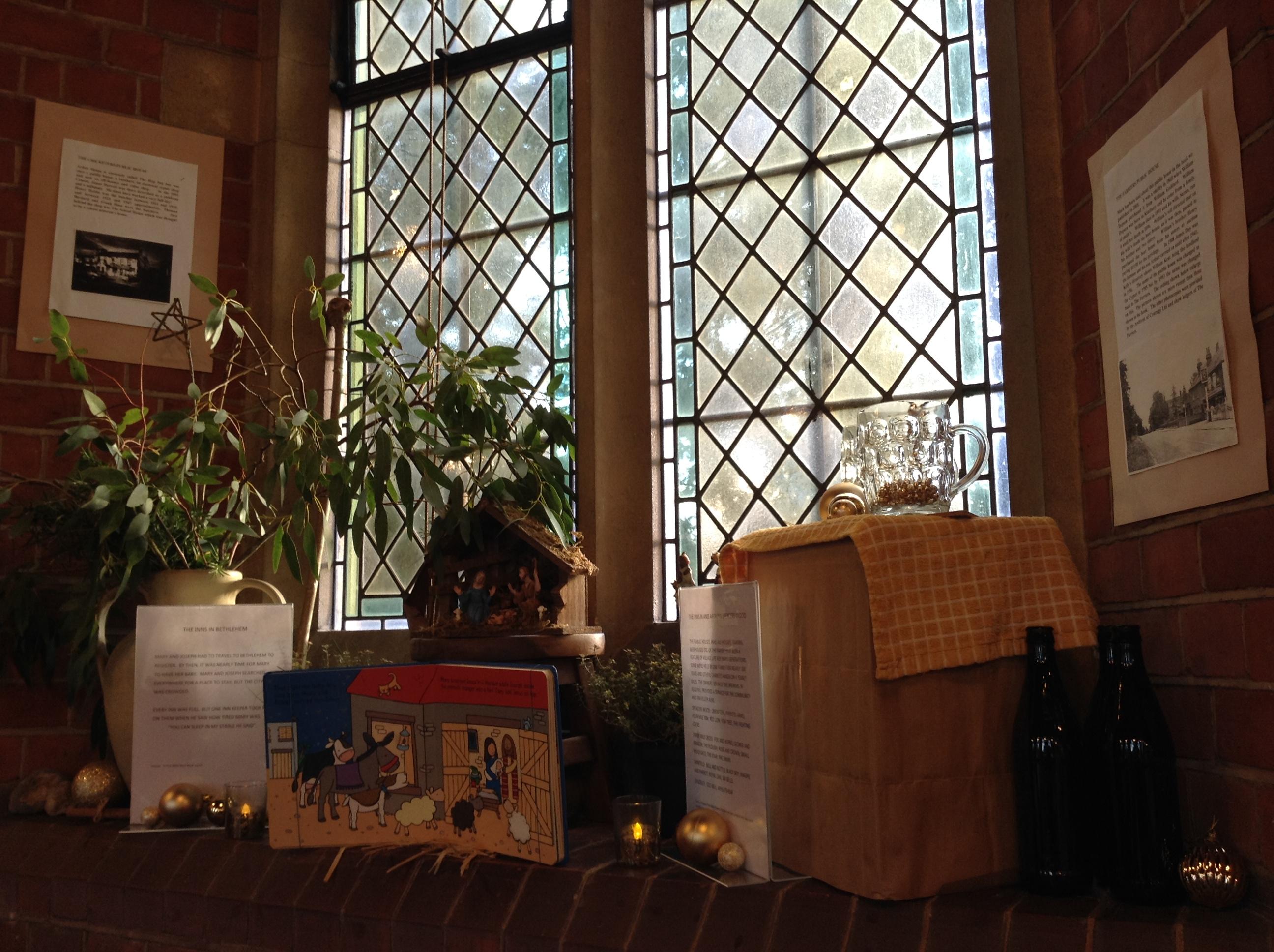 Christmas Window at St Michael's Church