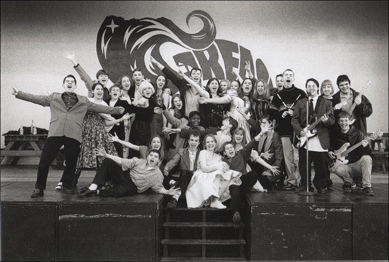 grease musical production at ryeish green school