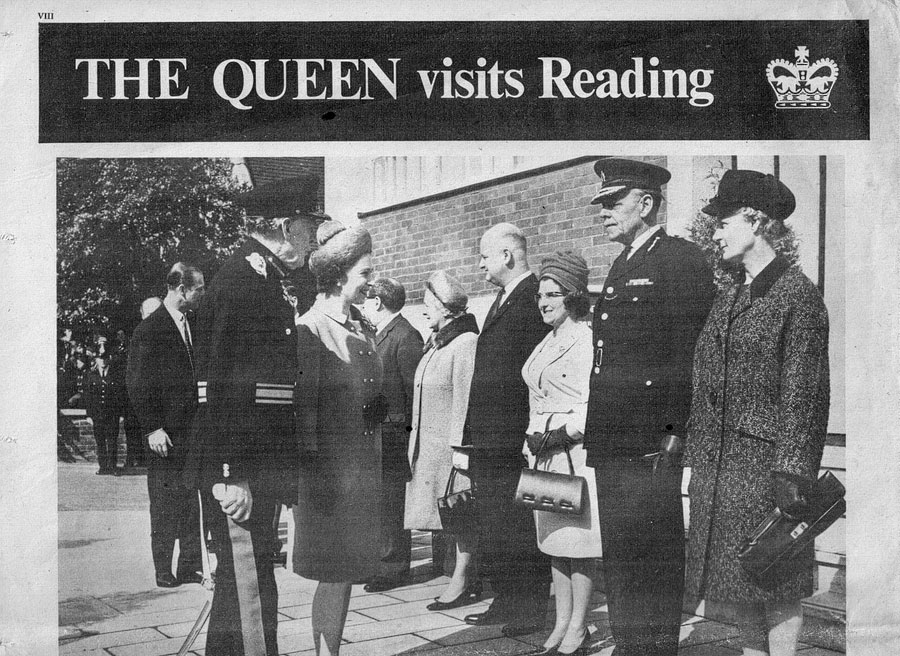 Visit of the Queen to Reading